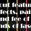 医療脱毛で使われているレーザー4種類の特徴・効果・痛み・料金について