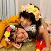 写真嫌いが治った春生さんと10歳を迎えた夏生さん。