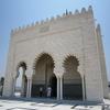 ラバト モハメッドV世廟 外壁 大理石