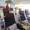 搭乗記 オーストリア航空 ウィーン⇒上海(浦東) OS75 B777-200 ビジネスクラス