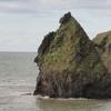 龍馬の横顔岩№1  海には坂本龍馬がよく似合う