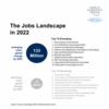 世界経済フォーラム:仕事の未来。2022年には今より101日多く学ばなければならず、2025年には52%の仕事が自動化される。