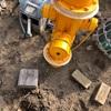 消火栓の凍結破壊。バルブが割れただとっ!