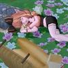 お花畑の庭用ベッドをゲット!
