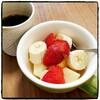 朝食フルーツ実践中。