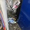 自販機のゴミ箱溢れかえる ゴミ箱の設置が必要じゃないか?
