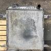 TCM 830-2タイヤショベルラジエーター修理