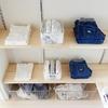 1LDKのクローゼット。ひと目で管理ができる、子供服の収納方法