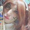 女装で羽子板やってみた。 顔に墨も塗られました( ゚Д゚)