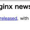 nginx unit 1.7.1 リリース