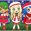 ポケモンクリスマス絵・サンタなアローラヒロインズ。