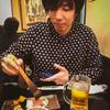 ギターと寿司の夕べ