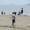 有明海岸に遊ぶ五月連休