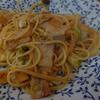 幸運な病のレシピ( 692 ) 夜:アーリオ 豚バラ 豆板醤 パスタ食っちまった
