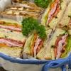 パンを焼いてサンドイッチ&ホットサンド、そしてラッピング