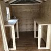 物置小屋を作る③:内部の棚をフル自作する