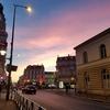 夜明けのパリの街を歩いて