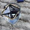 子供と行く釣り、透明バッカン(水汲みバケツ)は魚の観察もできてとても便利!