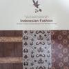 「インドネシアファッション展」