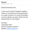 Googleを騙る迷惑メールが来たよ