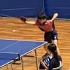 ゆな選手の8決!全国中学校卓球大会・三重県大会
