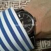 腕時計とシャツの袖の問題、そして手巻き式と革ベルトの組み合わせについて