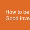 どうやって良いエンジェル投資家になるか (Investor School #11, Aaron Harris)