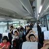 5年生:林間学習③ バスは山の中へ