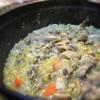 煮込むだけカンタン、豚ガツと野菜の煮込み、タイム風味