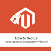 How to Secure your Magento Ecommerce Website?
