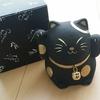 炭飾り招き猫