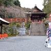 建勲神社で宗三左文字を撮影。