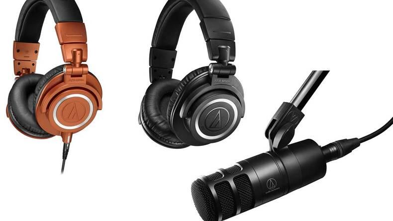AUDIO-TECHNICA、ATH-M50Xの限定色/新Bluetooth版と超指向ダイナミック・マイクを発売