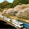 「富士・はやぶさ」と山桜