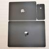wraplus for iPhone6s / iPhone6s Plus 全面360° ブラックカーボン 貼ってみた!