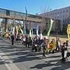 埼玉県議会の「原発再稼働を求める意見書」採択に抗議するデモ
