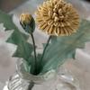 つまみ細工  たんぽぽの作り方🌼  花部分
