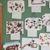 1年生:秋の贈り物 どんぐりのかべ飾り