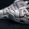 "【5月19日(土)発売】""NIKE AIR MORE UPTEMPO WHITE VARSITY RED"""