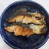 おいしい鮭とアスパラで十分至福。