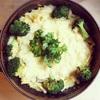 ストウブのお鍋でそのまま簡単❗️残ったシチューのリメイクグラタン(おまけ:有次の包丁と長女の味覚😉)