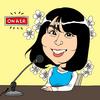 ラジオ投稿似顔絵イラスト|ゲツキンライブ1745/IBCラジオ 2021.5.13