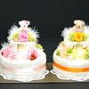 ギフト用アレンジ*お誕生日祝いのフラワーケーキ* (鹿児島県 霧島市 プリザーブドフラワー・霧島市プリザーブドフラワーウェディングブーケのハートローズ)