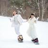 スキー&スノーボードが大好きなお二人!お待たせいたしました!