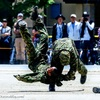 千僧駐屯地 創設67周年記念 前日行事 2018