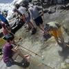 温泉掃除とバックカントリー【白馬鑓温泉】5月11日