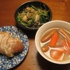 野菜とウインナーのスープ