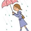 雨に濡れない。大人の雨対策グッズ