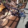 半年?ぶりに自転車に乗る。