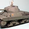 タミヤ 1/35 重戦車 P40(アンツィオ高校仕様)